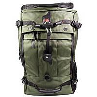 Рюкзак-сумка KAKA 2070 D 50L с кодовым замком Зеленый 4217-12260, КОД: 1679399