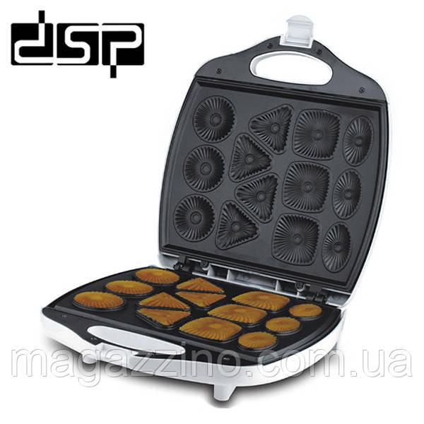 Апарат для приготування печива DSP KC-1105, Печенница, 1400 Вт.