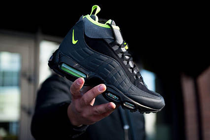 Кроссовки Nike Air Max 95 Sneakerboot Anthracite Volt, фото 2