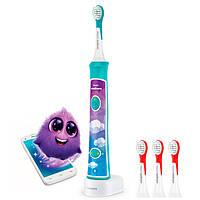 Звуковая зубная щетка PRO HX6322/04 Philips Sonicare For Kids с Bluetooth