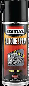 Силиконовое масло Soudal Silicone Spray 400 мл