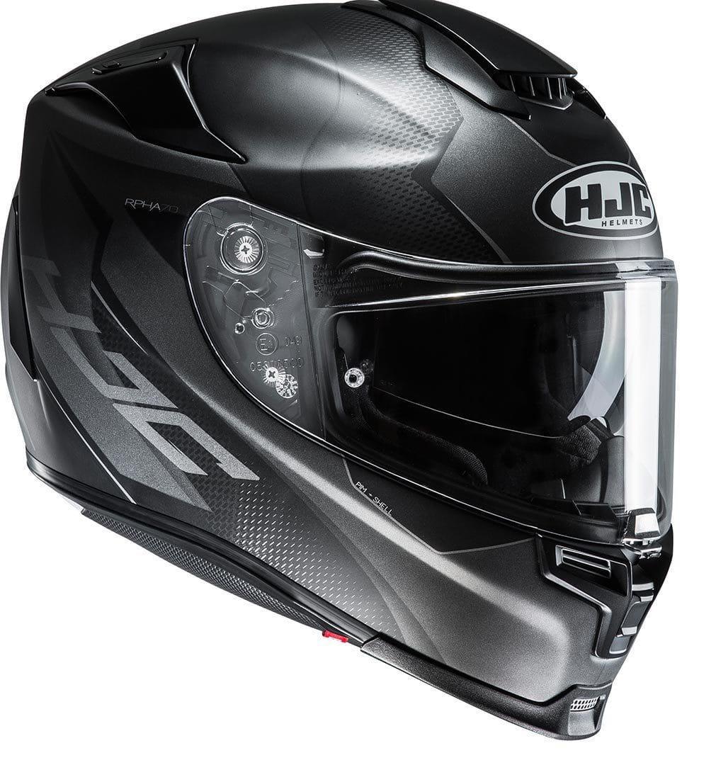 Мотошолом Hjc R-PHA-70 Gadivo (Black)