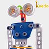 Конструктор KEEDO с мягкими деталями Робот на 59 деталей, фото 3