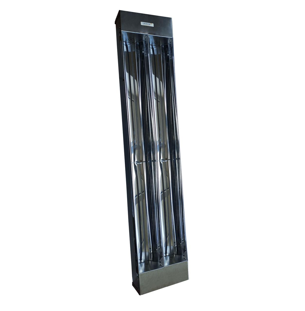 UKROP Т2000 - инфракрасный обогреватель средневолновый для теплиц, холодных зданий