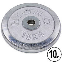 Блины (диски) хромированные d-30мм (1шт*10кг), фото 1