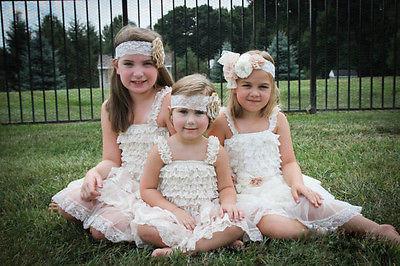 Кружевные платья и комбинезоны для девочек