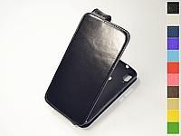 Откидной чехол из натуральной кожи для Xiaomi Mi Play