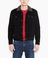 Мужская вельветовая куртка Levis черный S, M, L