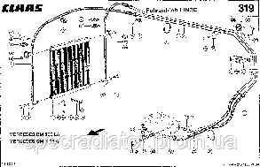 Радиатор масляный комбайна CLAAS MEGA, фото 2