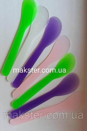 Шпатель пластиковый косметологический уп 50 шт, фото 2
