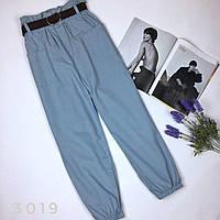 Женские брюки карго с поясом, фото 1