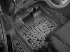 Килими гумові WeatherTech Ford Explorer 2017-2019 передні чорні