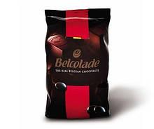 Черній шоколад Belcolade Lait Selection в дропсах 1 кг