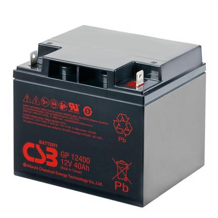 Аккумулятор CSB GP12400 (12Вольт, 40Ач), фото 2