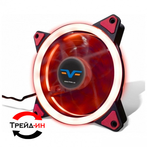 Кулер Frime Iris LED Fan Double Ring Red (FLF-HB120RDR)