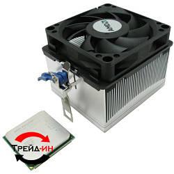 Охлаждение для процессора AMD 95W, б/у