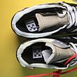 Кроссовки женские Nike Air Max 87 Og X Off-White черные-белые-желтые (Top replic), фото 3