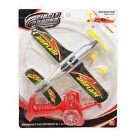 "Самолетик с запуском ""Airplane"" серебристый 102B-102"