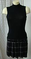 Платье женское теплое мини бренд Morgan р.44 3549