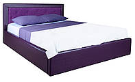 Кровать MELBI Флоренс Двуспальная 160 см х 190 см с подъемным механизмом Фиолетовый KS-014-02-2фи, КОД: 1670605
