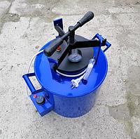 Автоклав бытовой винтовой ЭЛЕКТРИЧЕСКИЙ ЧЕЕ-14 синий на 14 поллитровых банок. Гарантия