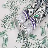 Пневматична хлопавка з доларами довжина 30 см 1754, фото 2