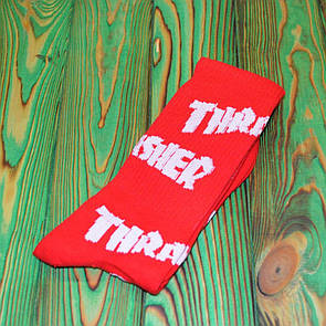 Носки Thrasher Red / White