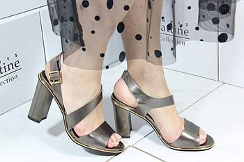 Стильные босоножки на каблуке Vensi V302