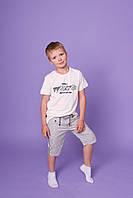 Подростковые котоновые шорты для мальчиков оптом GRACE,разм 134-164 см, фото 1