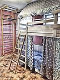 "Балдахин  на  детскую кроватку Домик "" Чехол Крыша "" шатер на кроватку,шалаш детский на крышу, фото 7"