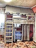"Балдахин  на  детскую кроватку Домик "" Чехол Крыша "" шатер на кроватку,шалаш детский на крышу, фото 8"
