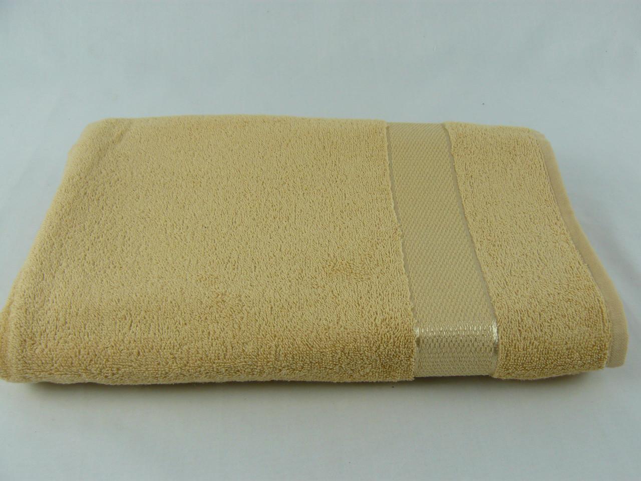 Махровое полотенце 100х150, плотность 400гр/м2