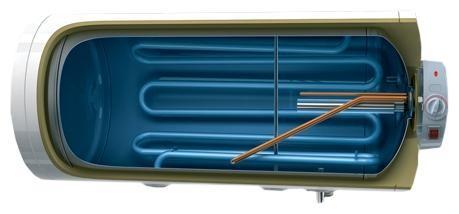 Водонагреватель комбинированный с одним контуром косвенного нагрева Tesy GCHMS 804520 A04 TSR TURBO