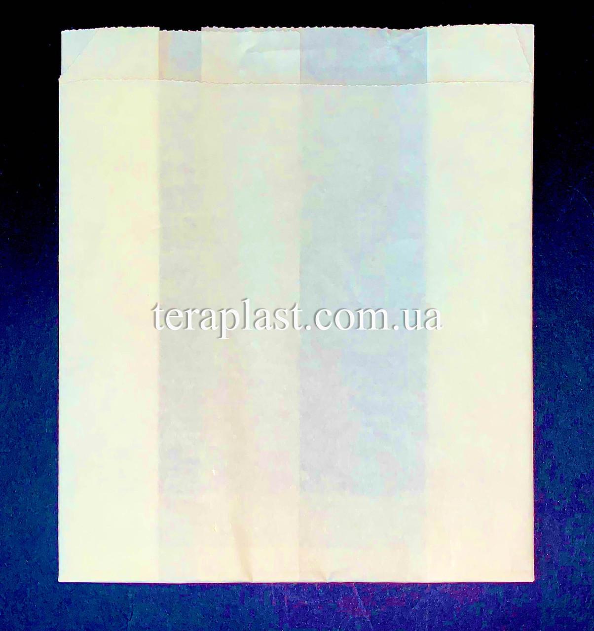 Пакет Саше Бумажный Белый Жиростойкий 120х140х50
