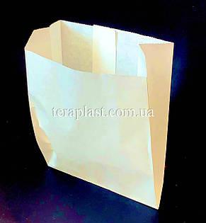 Пакет Саше Бумажный Белый Жиростойкий 120х140х50, фото 2