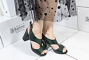 Босоножки лаковые на каблуке Vensi V345, фото 6