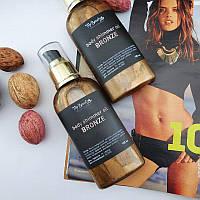 Масло-бронзер для придания бронзового оттенка с шимером Top Beauty Body Shimmer Oil, 100 ml