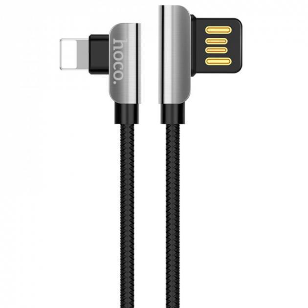 Кабель USB lighting Hoco U42 1.2 м.