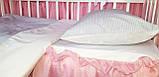 Постельное детское белье в круглую кроватку для новорожденных,сменное детское  белье,сменный комплект, фото 4