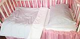 Постельное детское белье в круглую кроватку для новорожденных,сменное детское  белье,сменный комплект, фото 5