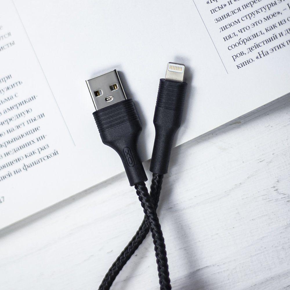 Кабель USB lighting XO XONB1113 1 м.