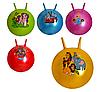 Мяч для фитнеса с рожками MS 0067 45 см