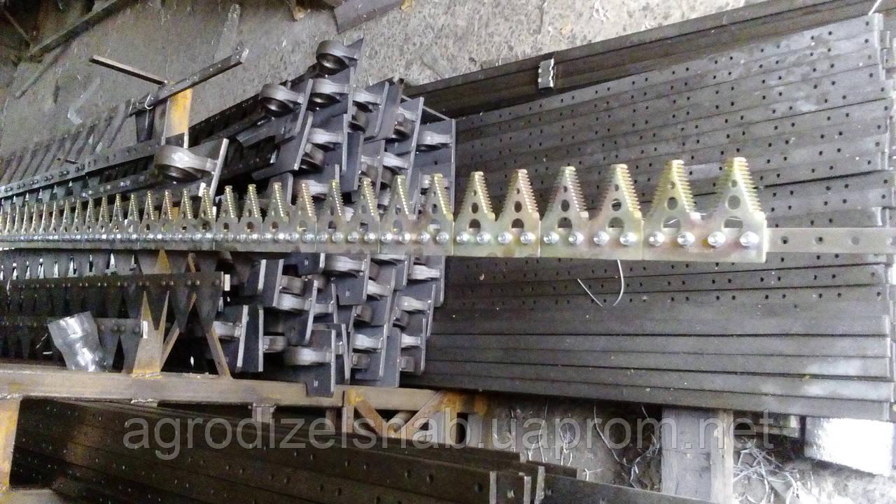 Нож жатки на рапсовый ствол боковой правый (подвижный) ПР-6.10.170