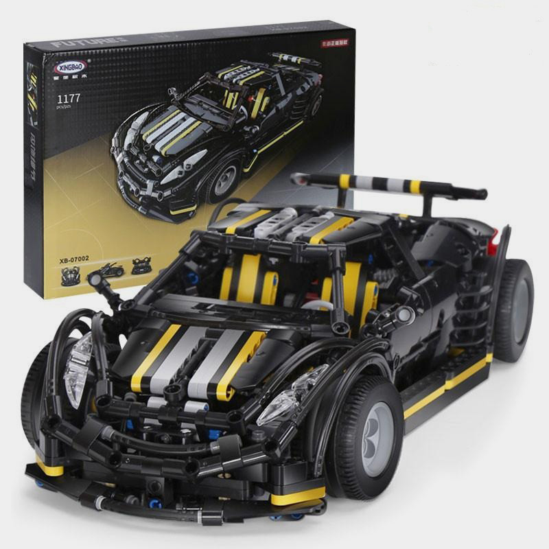 Детский конструктор XINGBAO Super Car 1177 деталей
