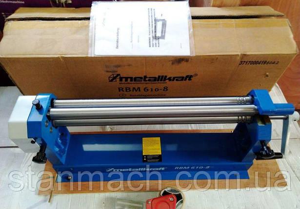 Metallkraft RBM 610-8 Прокатно-згинальний верстат (Вальці), фото 2