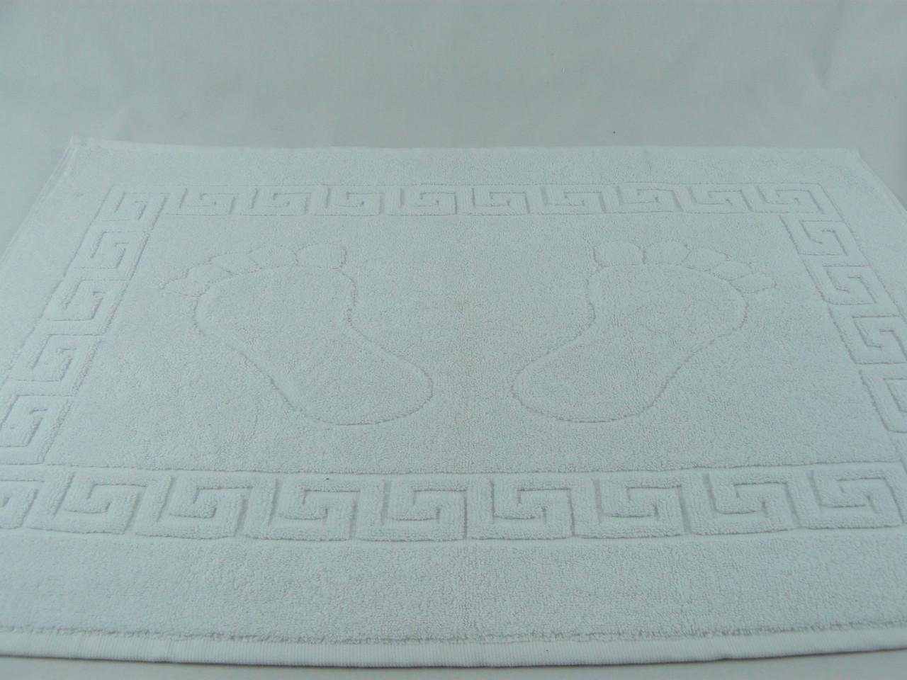 Махровое полотенце для ног 50х70, плотность 400гр/м2
