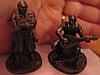 Сувенир фигурка статуэта металл олово сплав козак казаки набор 2шт УКРАИНА, фото 3