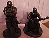 Сувенир фигурка статуэта металл олово сплав козак казаки набор 2шт УКРАИНА, фото 2