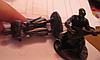 Сувенир фигурка статуэта металл олово сплав козак казаки набор 2шт УКРАИНА, фото 5
