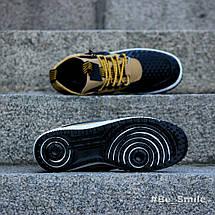 Кроссовки мужские Nike Lunar Force 1 Duckboot (коричневые) Top replic, фото 3